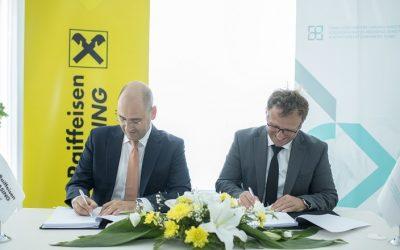 KCGF Signed the Guarantee Agreement with Raiffeisen Leasing Kosovo