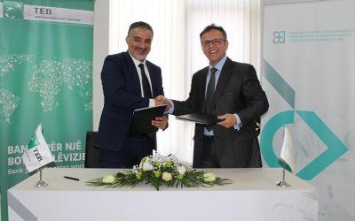 FKGK nënshkroi marrëveshjen për rritje të limitit për garanci me TEB Bank