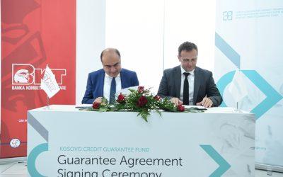 FKGK nënshkruan Marrëveshje me Bankën Tregtare Kombëtare Dega në Kosovë