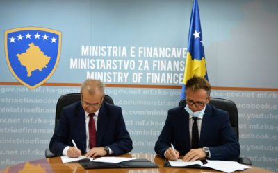 Ministry of Finance and Kosovo Credit Guarantee Fund signed the Subsidiary Agreement