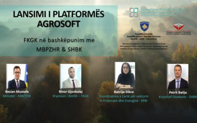 Kosovo Credit Guarantee Fund launches the AgroSoft Platform