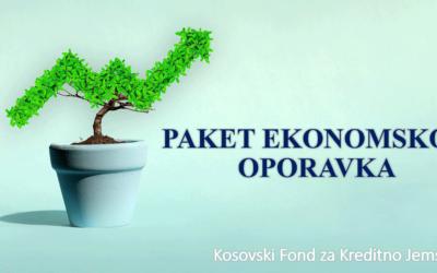 KFKJ primenjuje prozore garancija u okviru Paketa Ekonomskog Oporavka