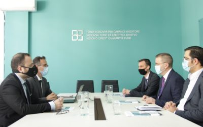 Përfaqësues të FKGK-së presin në takim Guvernatorin Mehmeti dhe përfaqësuesit e BQK-së