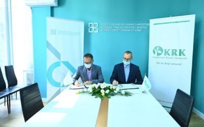 KCGF signs agreement with Kreditimi Rural i Kosovës